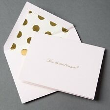 ONE Kate Spade SOLD OUT How The Devil Are You Single Blank Note Card