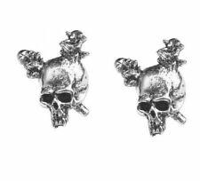Alchemy England - Metallica: Damage Studs, Earrings, Skulls, Metal Music Gothic