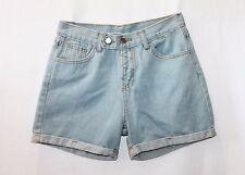 Unbranded Blue Cuff Denim Shorts Size XS BNWT #SU62