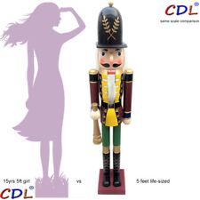 "CDL 60"" 5FT life-size  large giant huge Christmas wooden nutcracker soldier K40"