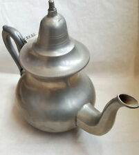 Old vintage silver teapot metal for Drinking TEA in Traditional Moroccan Decorat