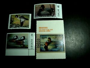 13 STATE DUCK STAMPS NEVER HINGED ORIGINAL GUM CATALOG VALUE $120.00