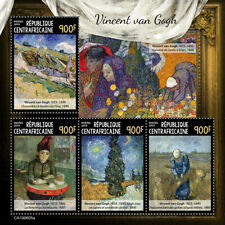 Central Africa 2019 Vincent van Gogh, paintings S201909