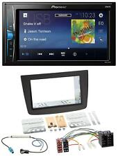 Pioneer 2DIN MP3 USB AUX Autoradio für Alfa Romeo Mito 08-14 955 ISO schwarz
