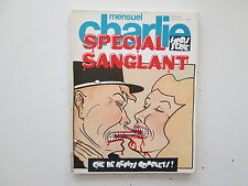 CHARLIE MENSUEL HORS SERIE SPECIAL SANGLANT N°1 BE/TBE