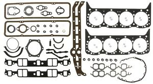1981 Through 1985 Chevy 350 Engines Full Gasket Set Victor 95-3072VR