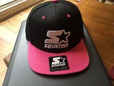 Starter Cap – Icon Logo 2 tone black and pink  Osfm