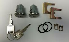 1969-1973 Full Size Buick Door Lock set with square GM stamped matching keys