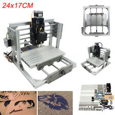 DIY MINI CNC Mill Router USB Desktop Metal Engraver PCB Milling Machine 24x17cm