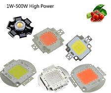 1W-500W High Power LED Chip 660nm Deep Red LED Grow Light 440nm 380nm-840nm cob