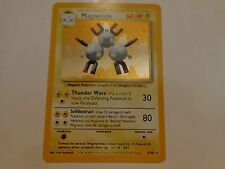 Pokemon Base Set Magneton Holo Rare NM/M