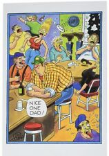 """NobleWorks 0174""""Nice One"""" Funny Father's Day Greeting Card (5"""" x 7"""")"""