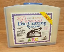 Making Memories My Personal Die Cutting System w/ 26 Uppercase Letter Dies *READ