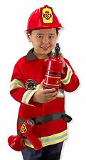 Melissa and Doug Fire Chief Role Play Costume Set 3 - 6 Years