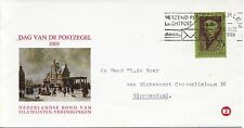 Envelop Dag van de Postzegel 1969 met adres en mooi stempel