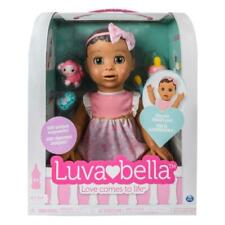LUVABELLA RESPONSIVE BROWN BABY DOLL REAL EXPRESSIONS & MOVEMENT LUVA BELLA NEW