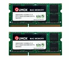 QUMOX 16GB (2 x 8GB) PC3-10600 (DDR3-1333) Memory (QXDDR31333CL9MAC/8GB x2)