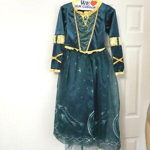 DISNEY STORE  MOVIE BRAVE MERIDA  COSTUME DRESS  SZ. 9/10