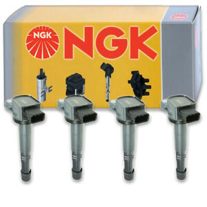 4 pcs NGK Ignition Coil for 2003-2007 Honda Accord 2.4L L4 - Spark Plug Tune zh