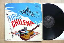 LP Hermanos Campos - Fiesta Chilena - Chile RCA