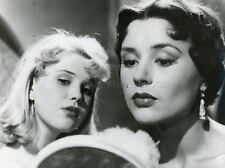 EVA DAHLBECK  HARRIET ANDERSSON INGMAR BERGMAN  KVINNODRÖM 1955 VINTAGE PHOTO