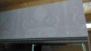 Roman Blind, Laura Ashley Josette Amethyst fabric