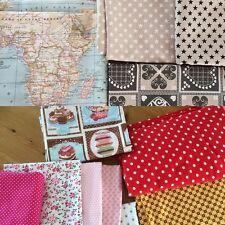 Fabric Scrap, Remnants, Bolt Ends, Scrap Bundle 5kg MIX (cath kidston rosali etc