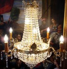 KRISTALL KRONLEUCHTER 10-FLAME CHANDELIER LAMPE DECKENLÜSTER DECKENLAMPE LUSTER