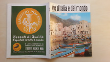 VIE D'ITALIA E DEL MONDO 1969 N°4 EGADI MILAZZO 5/17