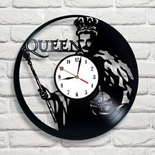 Queen Freddie Mercury King design vinyl record clock home decor art music shop 2