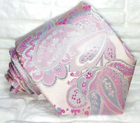 Paisley krawatte seide Made in Italy marke Jacquard hochzeiten / business VP€ 40