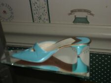 2002-Just The Right Shoe-Raine-Stepping Out Figurine-Material Girl -.Box/Coa