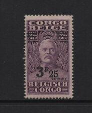 BELGIAN CONGO 1931 STANLEY 3.25f. on 2.75f purple (SG175) *MNH*