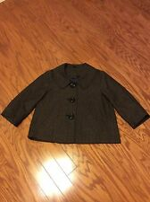 Ambition 3/4 Sleeve Tweed Lined Size L Women Coat/Jacket