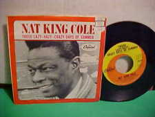 NAT KING COLE 45 RPM IN THE COOL OF THE DAY CAPITOL RECORDS WITH PICTURE SLEEVE