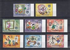 TIMBRE STAMP 8 MALDIVES Y&T#968-75 DISNEY DONALD  NEUF**/MNH-MINT 1984 ~A26