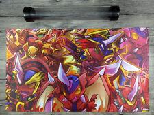 CARDFIGHT!! Vanguard Dragonic Overlord Custom VG Playmat Free High Quality Tube