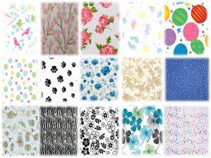 1,28€/m² 10 Blatt Designer-Seidenpapier, zum Basteln/Verpacken/Dekoriere
