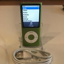Apple iPod nano 8 GB Green 4th Generation