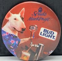 Vintage Bud Light Beer Spuds Mackenzie Pinback Button Pin Bull Terrier Dog