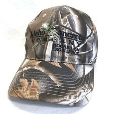 ef595abb325 Idaho Concrete Baseball Hat CAMO Fly Fishing Lure Embroidered Cap Lid Cover  c6