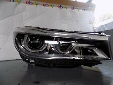 2016-2017 BMW 7 SERIES RIGHT SIDE ADAPTIVE LED HEADLIGHT OEM OEM P/N 7463766-01