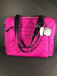 New Coco + Carmen  Designer Pink Personal Assistant 5 Pocket Organizer.
