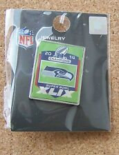 2015 SB Super Bowl 49 XLIX pin Seattle Seahawks 2014 NFC Champions w