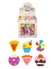 Bulk Wholesale Job Lot 432 Sweet Shop Erasers Rubbers Toys