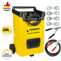 Autobatterie Ladegerät KFZ PKW Batterie Starthilfe 12V 24V 105A Werkstatt LED