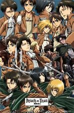 ATTACK ON TITAN - VIDEO GAME COLLAGE POSTER - 22x34 MANGA 14037
