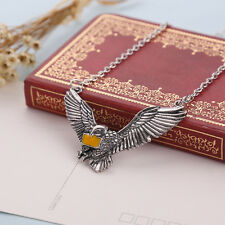 fashion cosplay necklace Harry Potter Ravenclaw Pigeon messenger pendant