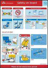 Safety Card / KLM cityhopper / Embraer 175 190 / 2017 (SOBE175E190NOV2017)
