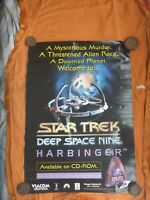 STAR TREK DEEP SPACE NINE HARBINGER  1 SHEET MOVIE POSTER